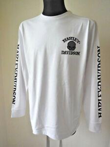 Harley-Davidson-Skull-Shirt-langarm-Pullover-Longshirt-Pulli-weiss-99092-14VM