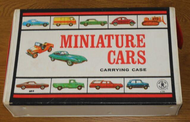 1966 MATTEL MINIATURE CARS CARRY CASE - DIE-CAST VEHICLES MATCHBOX Etc 1:6