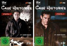 6 DVDs * CASE HISTORIES - SEASON / STAFFEL 1 + 2 IM SET # NEU OVP &