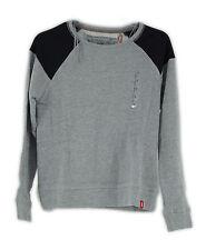 edc by ESPRIT Damen Sweatshirt 123CC1J003, Farbe Grau, Gr. 36 (S)