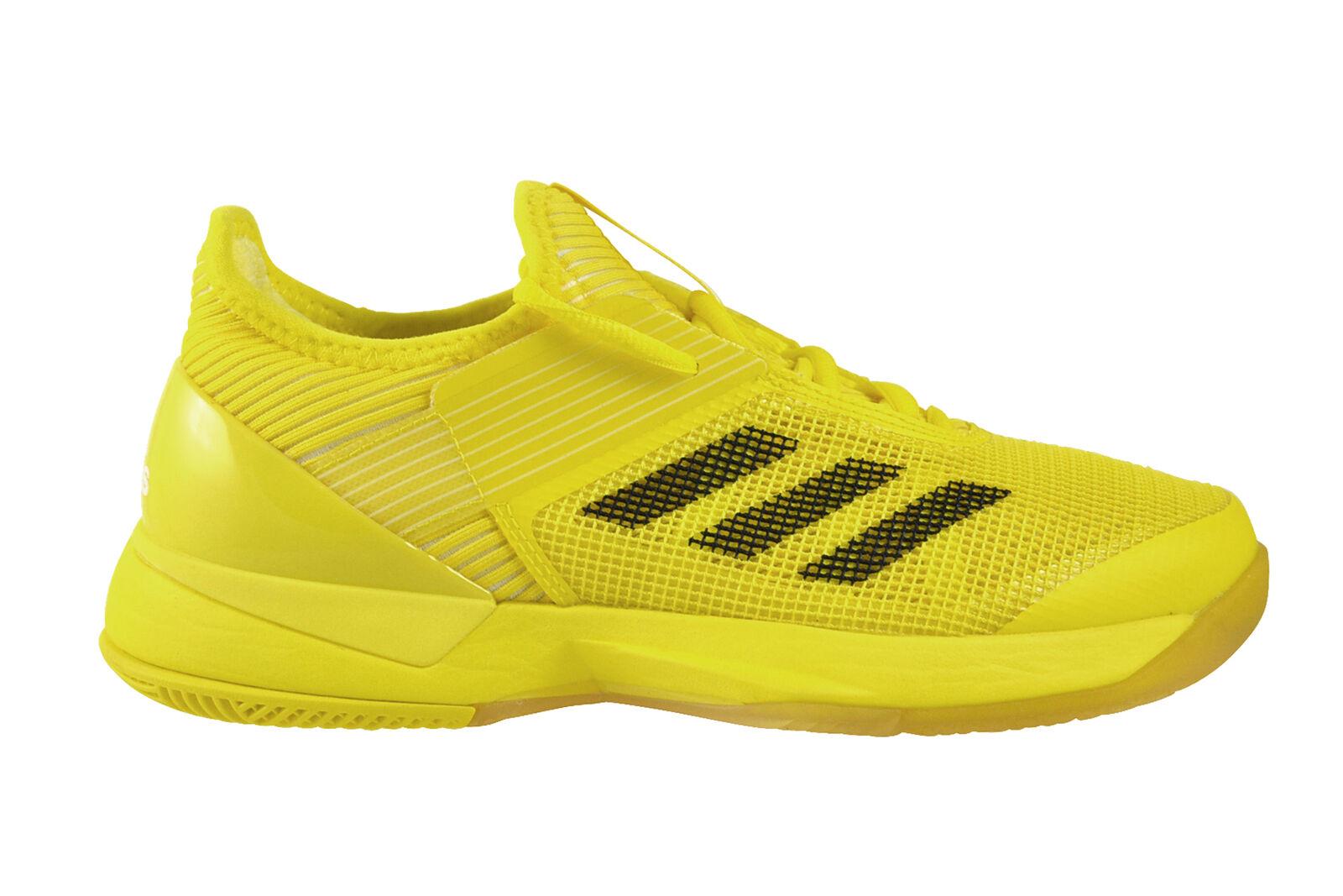 Adidas Adizero Ubersonic 3 damen Gelb schwarz Weiß Tennisschuhe gelb BY1615