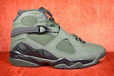 8c512e021b2 Nike Air Jordan 8 Retro Take Flight Size 9.5 Sequoia Black Orange 305381 305