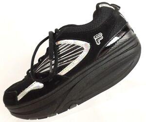 ddd7f1ed Fila Fit Kohls Womens Black Walk N Sculpt Fitness Toning Sneakers ...
