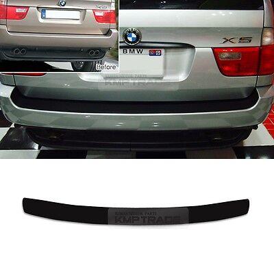 for BMW 1999 - 2006 X5 E53 Rear Bumper Protector Decal Sticker Cover Black 1P