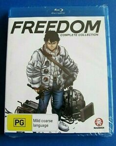 FREEDOM-Complete-Collection-BLU-RAY-NEW-SEALED-Anime