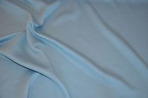 CréAtif - Tissu Gp 8,50 €/m Bleu Ciel Black Out Au Mètre Noble Rideau Tissu-toff Gp 8,50 €/m Himmelblau Black Out Meterware Edler Vorhangstoff Fr-fr Afficher Le Titre D'origine