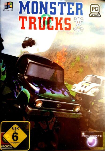 Monster Trucks - Monster Stuns und Rennen für Pc Neu/Ovp
