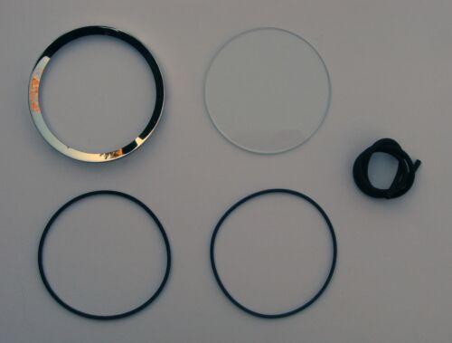 MGA MGB MGC MG Midget strumento lunetta e vetro RESTAURO KIT 4 pollici