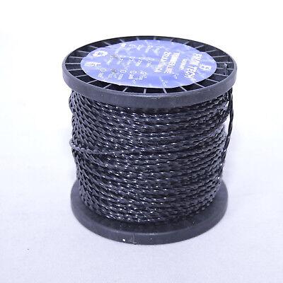 80 M Mähfaden Ersatzfaden Twist 2,4mm Trimmerfaden Motorsense Freischneider Schnelle WäRmeableitung