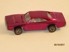 Hot Wheels Redline 1968 Custom Dodge Charger Purple/Magenta Super body paint