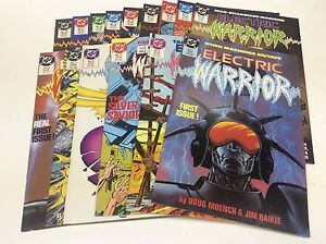 ELECTRIC-WARRIOR-1-18-DC-1986-MOENCH-BAIKIE-1216196-NEAR-COMPLETE-SET-OF-15