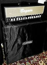 "Custom padded cover w/zippers for BOGNER Uberschall 4x12"" Straight cab"