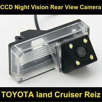 FOR TOYOTA land Cruiser Reiz Car CCD Night Vision NTSC Backup Rear View Camera