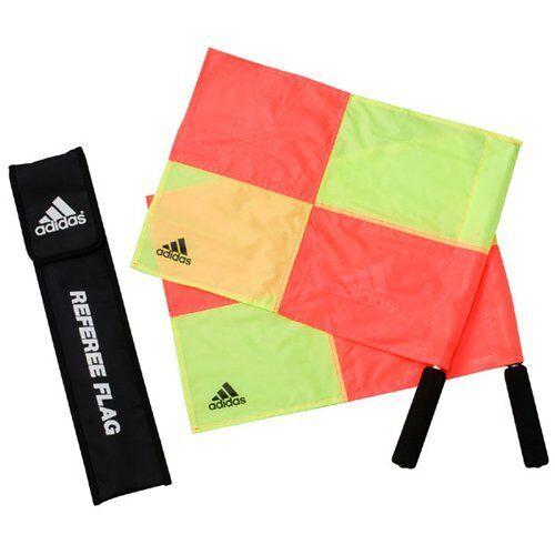 Ya08563 Adidas Japan Football Referee Flag Lines Man 2 flags JH399