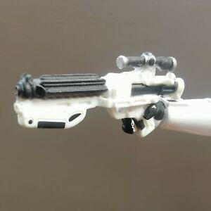 5PCS-1-6th-Plastic-Stormtrooper-Pistol-Rifle-Gun-Weapon-Model-Figure-Accessories