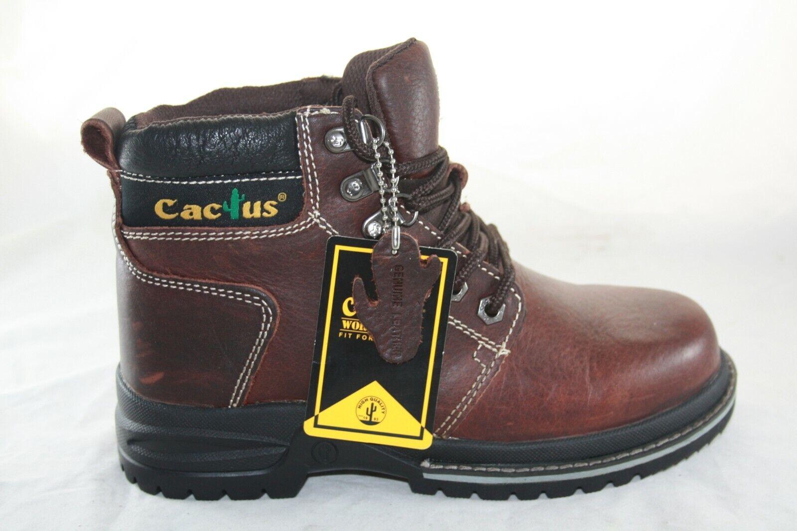 08be3d4afb2 MEN'S CACTUS WORK BOOT 6533 OIL RESISTANT DARK BROWN nolbie6629 ...