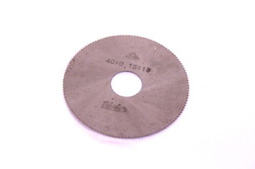 Sägeblätter 40x0,15x10 mm HSS Kreissägeblatt Scheibenfräser Schuler Dremel 5Stk