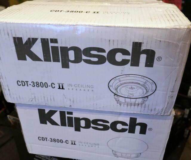 Open Box Klipsch CDT-5800-C II Ceiling Speaker