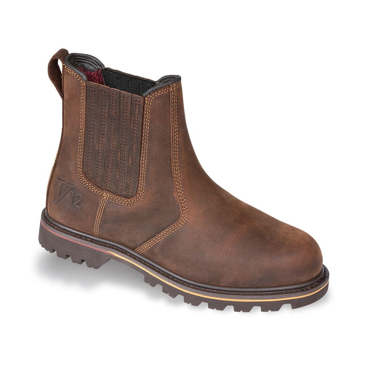 omaggi allo stadio V12 Rancher Stivali Da Uomo Rivenditore Pieno Fiore Fiore Fiore Pelle non safetyr Lavoro Casual Footwear  migliore offerta