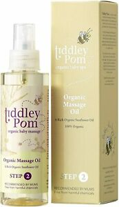 Tiddley Pom Organic Massage Oil 150ml STEP 2 Organic Baby Spa