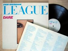 The Human League Dare + Inner A2 B1 ♫LISTEN♫ UK LP Virgin V2192 1981 EX/NM