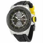 Invicta Men's Pro Diver Black Dial Ocean Baron Rubber Strap Yellow Accents Watch