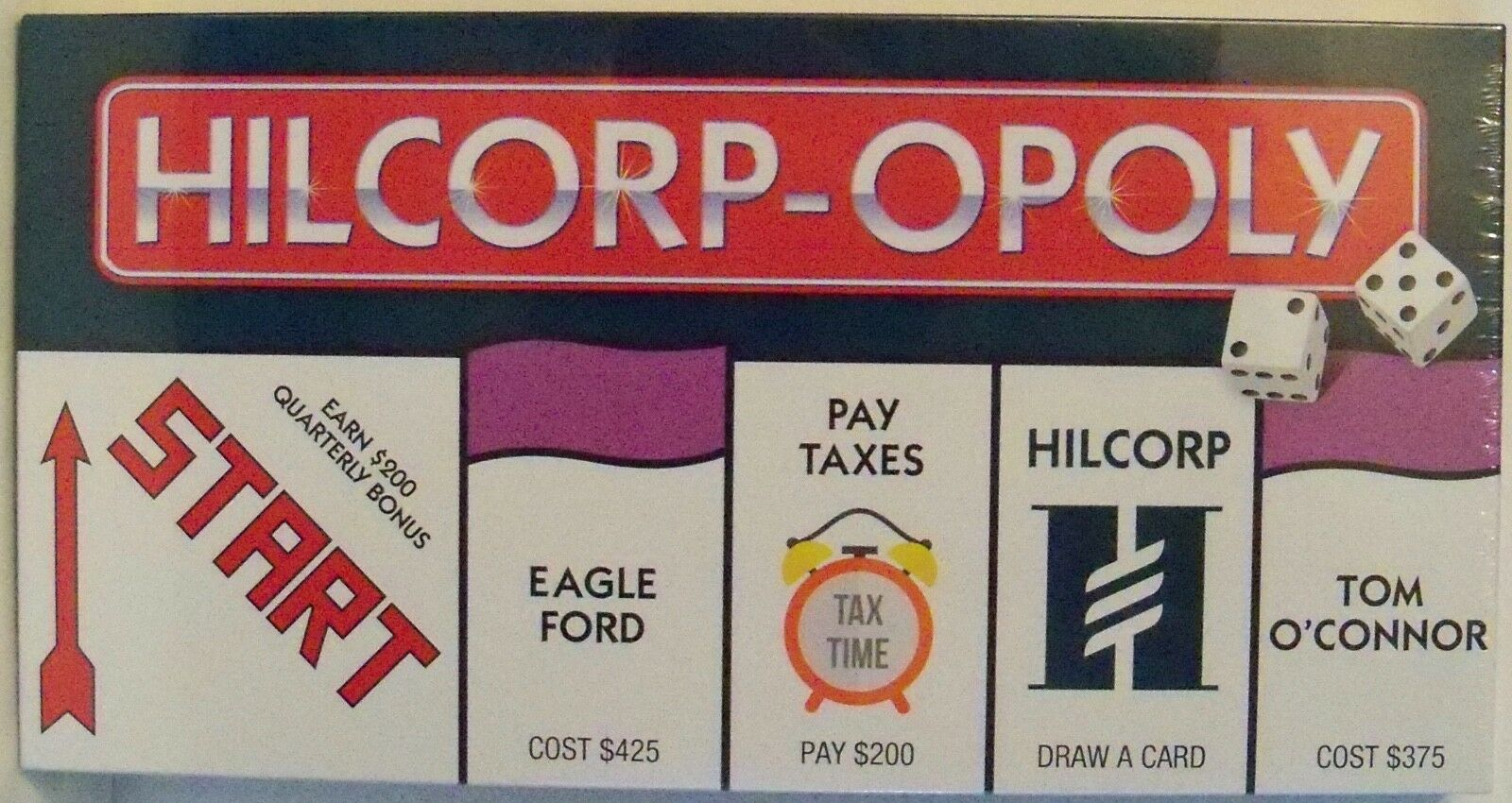 Hilcorp-Opoly - Board Game