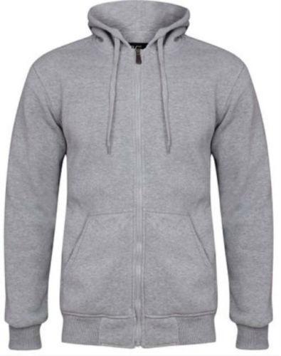 Thick Fleece Hoody Jacket Soft Feel Fleece Two large hand warmer pockets Warm  Z