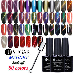 7-5ML-UR-SUGAR-Magnetique-Nail-Art-Vernis-a-Ongles-Semi-permanent-UV-Gel-Polish