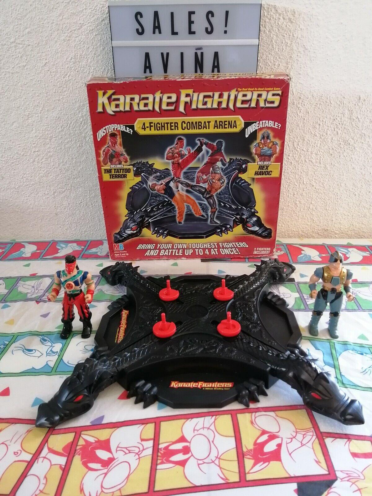 1996  karate en la arena. Cuatro Cuatro Cuatro boxeadores raros. f88