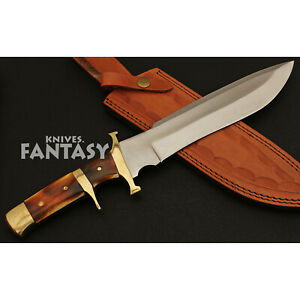 Boot Custom Handmade D2 Steel Antique Boot Hunting Survival Bowie Knife