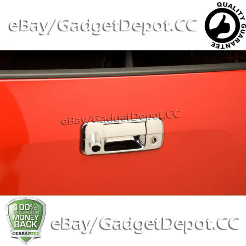 For 2007-2012 2013 Toyota Tundra Tailgate Handle Chrome Cover W// Key/&Camera Cut
