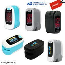 Finger Pulse Oximeter Test Spo2 Sensor Heart Rate Meter Blood Oxygen O2 Monitor