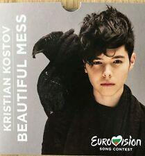 """BULGARIA EUROVISION 2017 ENTRY KRINTIAN KOSTOV """" BEAUTIFUL MESS"""" PROMO CD"""