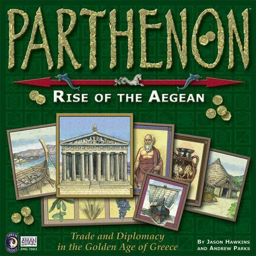 PARTHENON: Rise Of The Aegean Board Game NEW SEALED