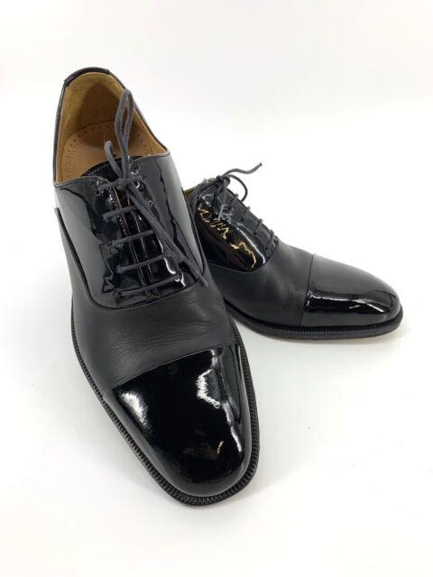 Magnanni Cesar Black Patent Leather Cap