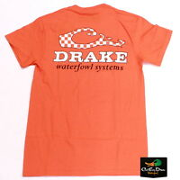Drake Waterfowl Game Day Logo S/s T-shirt University Of Tennessee Small