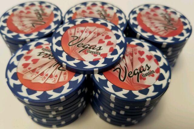 Used Casino Poker Chips
