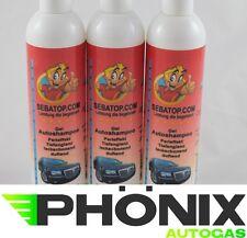 3x Autoshampoo Shampoo Auto Wäsche Reinigung 300ml