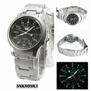 Seiko-Mens-Analog-Casual-Watch-5-Automatic-SNK809K1