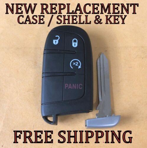 NEW DODGE SMART KEY PROXIMITY REMOTE FOB SHELL CASE /& UNCUT KEY FOR 68066350