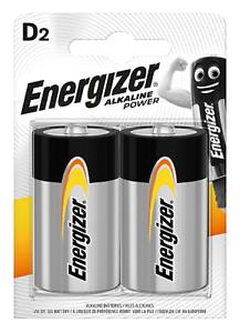 2 x Energizer Alkaline Power Mono D E95 LR20 1,5 Volt Stilo im 2er Blister