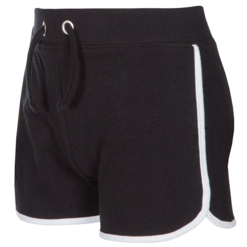 Red Melon Girls Short Jersey Shorts Cotton Black Navy Grey Pink Turquoise