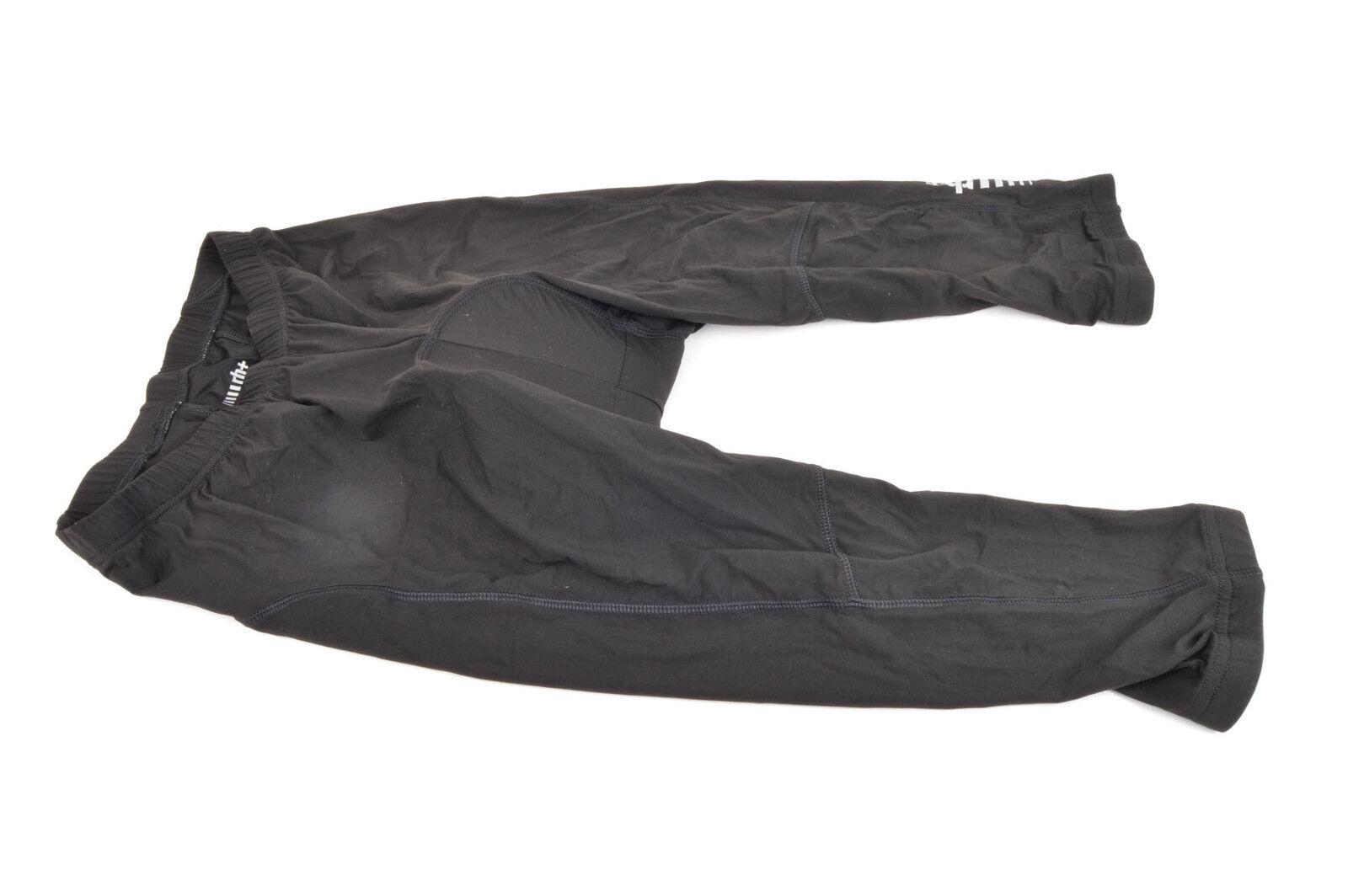 NEW Zero Rh+ black Logo MD Padded Pants in Size S