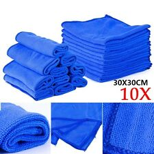 10x Microfibre Wipe Dry Cleaner Auto Car Detailing Soft Cloths Wash Towel Duster