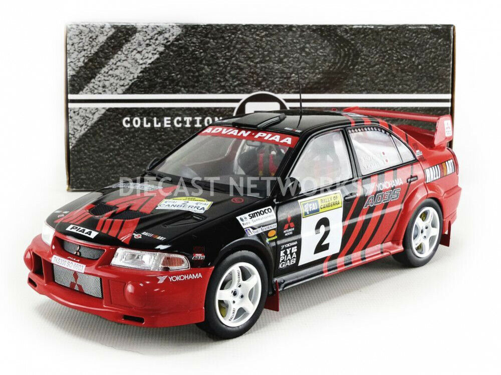 Triple 9 Mitsubishi Lancer Evolution VI Ganador Rally de Canberra 1999  18 nuevo