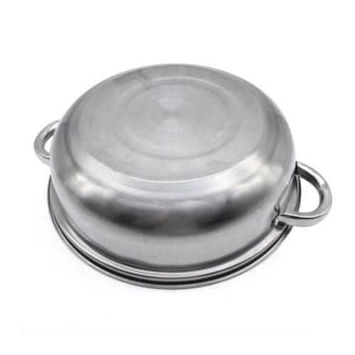 3 niveaux Cuiseur Vapeur en Acier Inoxydable Légumes Cuisinière Pot Pan 28cm fr.