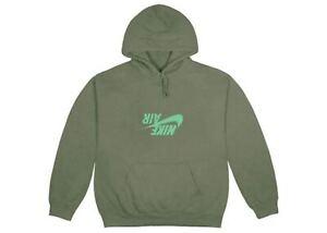 nike hoodie vert