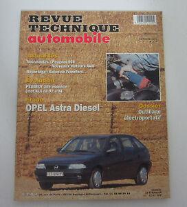Revue-technique-automobile-RTA-577-opel-astra-diesel