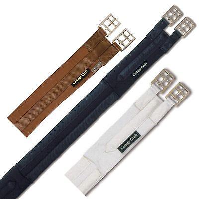 Responsabile Cottage Craft Equine Parallelo Standard Cinghia Sottopancia Flusso D'aria Verso Il Basso E Fibbia A Rulli-